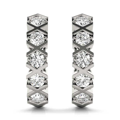 14k-White-Gold-Diamond-Hoop-XOXO-Earrings-(0.50ct)