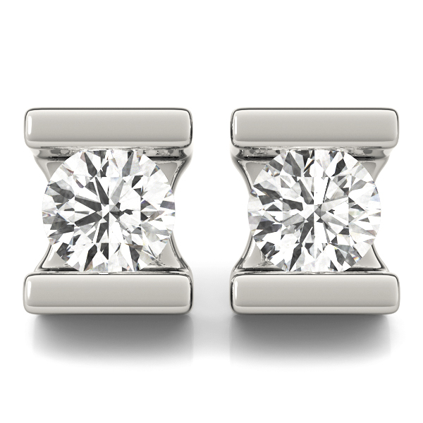14k-White-Gold-Channel-set-Round-Lab-Diamond-Stud-Earrings-(1.00ct)