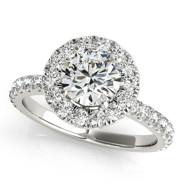 14k-White-Gold-French-Pave-Halo-Diamond-Engagement-Ring-(0.60ct)