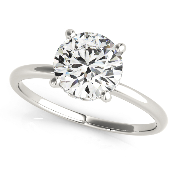14k-White-Gold-Diamond-Accented-Solitaire-Engagement-Ring-(0.08ct)